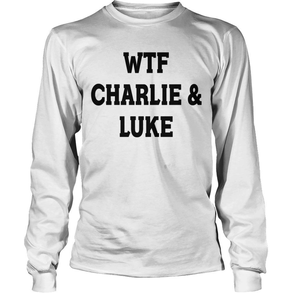 5SOS Charlie Puth Wtf Charlie & Luke Longsleeve