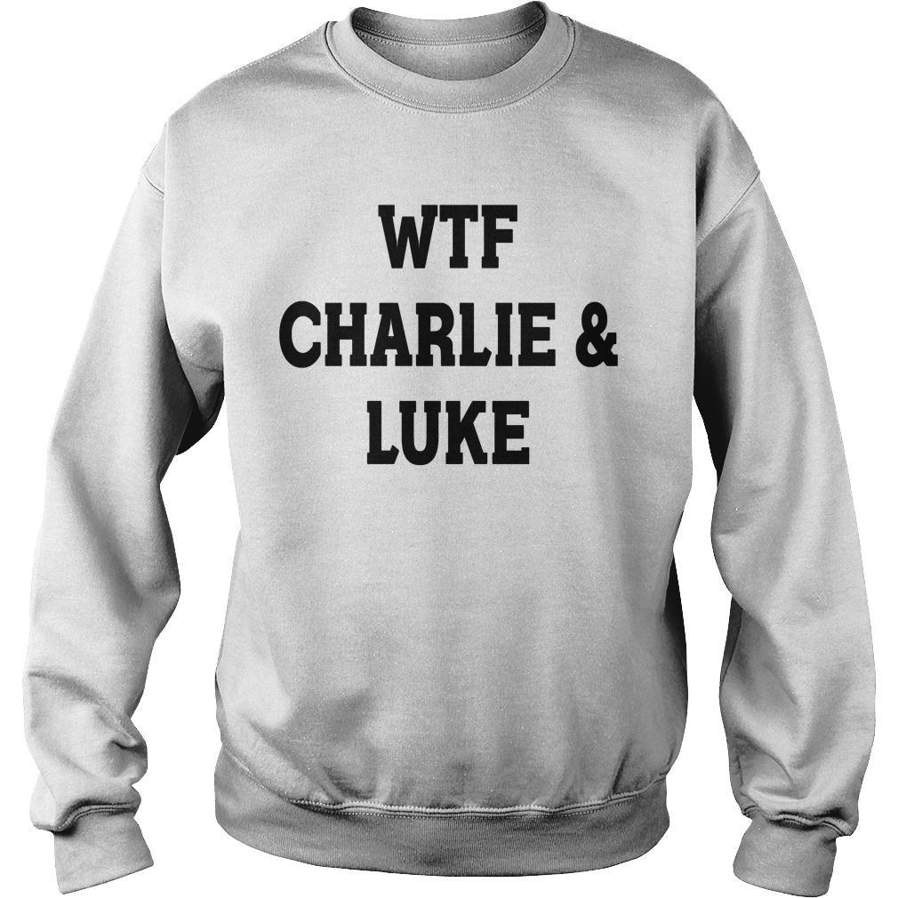 5SOS Charlie Puth Wtf Charlie & Luke Sweater
