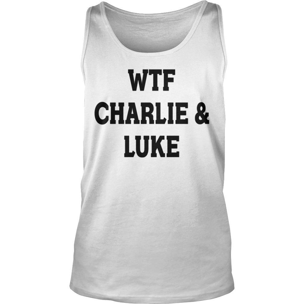 5SOS Charlie Puth Wtf Charlie & Luke Tank Top