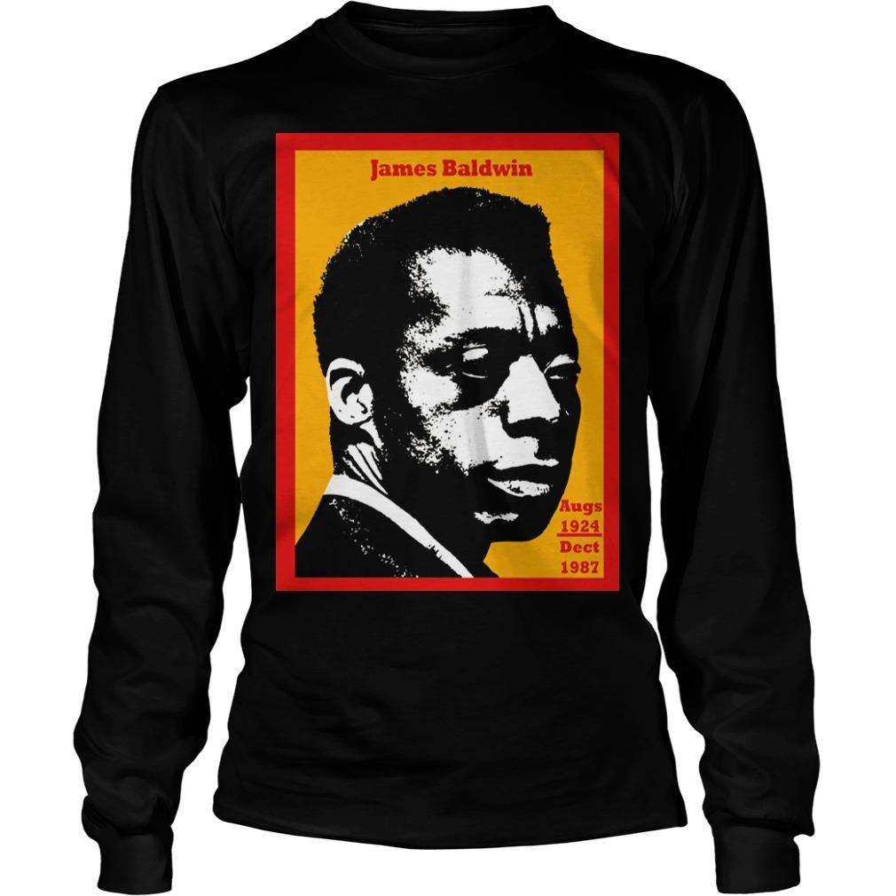95th Birthday James Baldwin Longsleeve