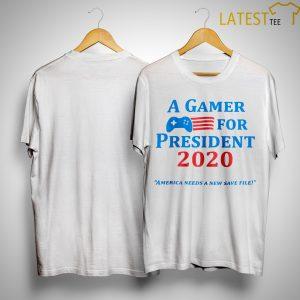 A Gamer For President 2020 Shirt