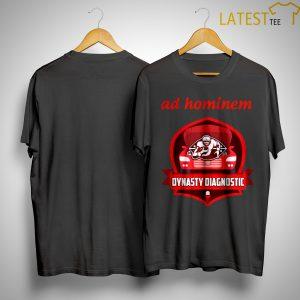 Ad Hominem Dynasty Diagnostic Shirt