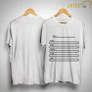 Adam Ellis Mood Dorky Stats Shirt