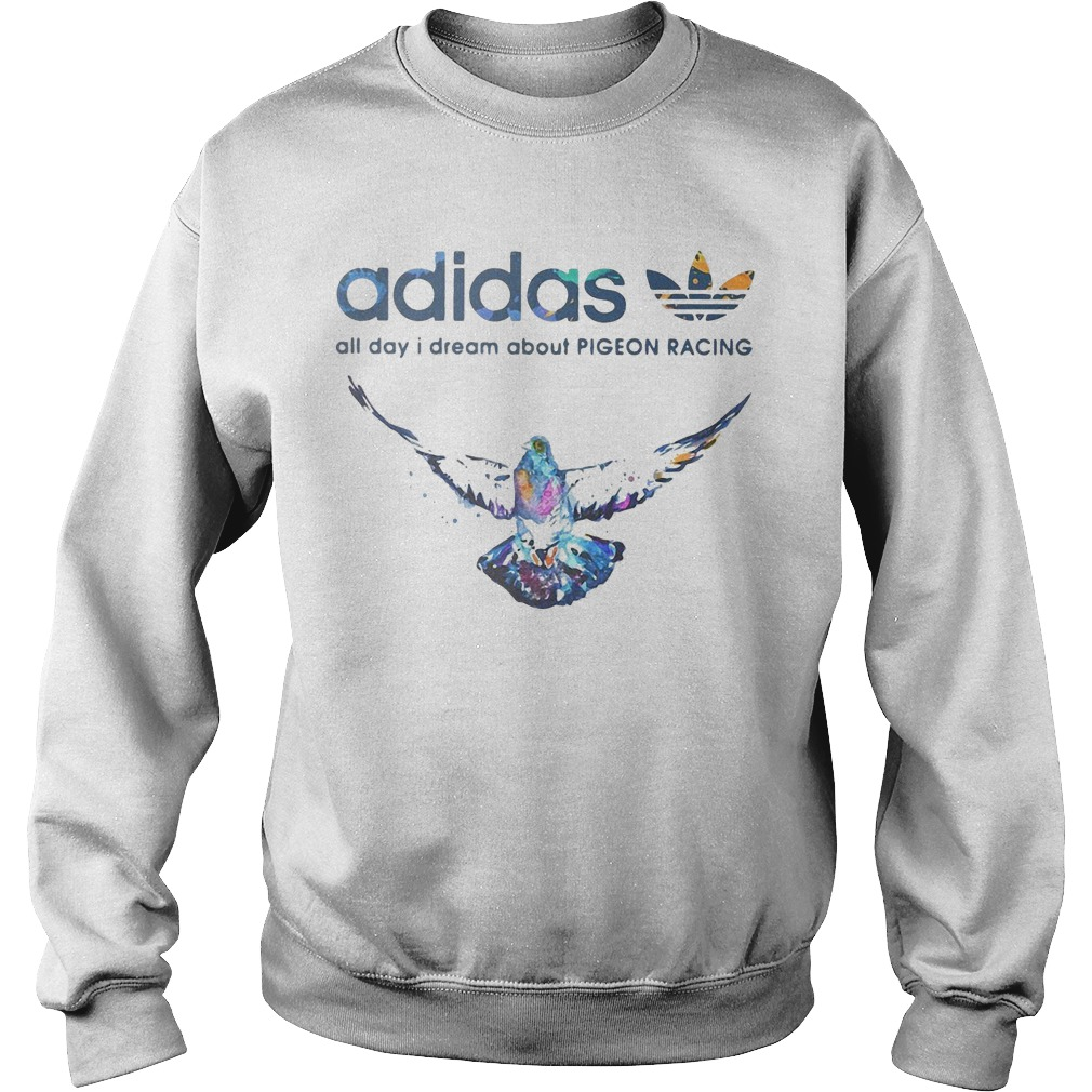 Adidas All Day I Dream About Pigeon Racing Sweater