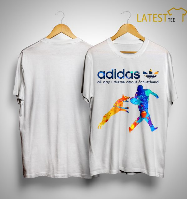 Adidas All Day I Dream About Schutzhund Shirt