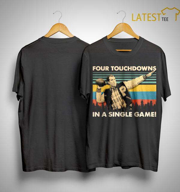Al Bundy Vintage Four Touchdowns In A Singles Game Shirt