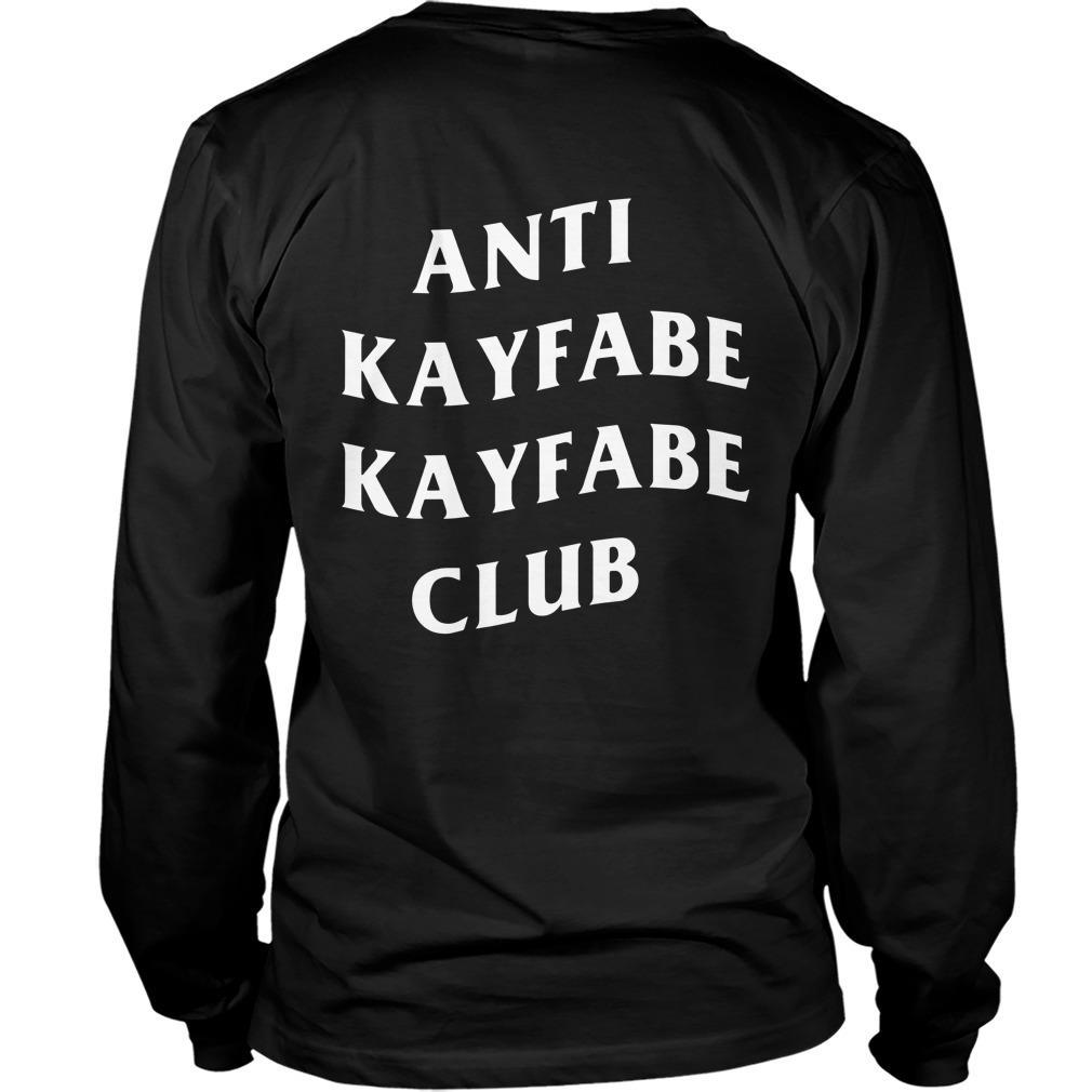 Alexis Littlefoot Anti Kayfabe Kayfabe Club Longsleeve