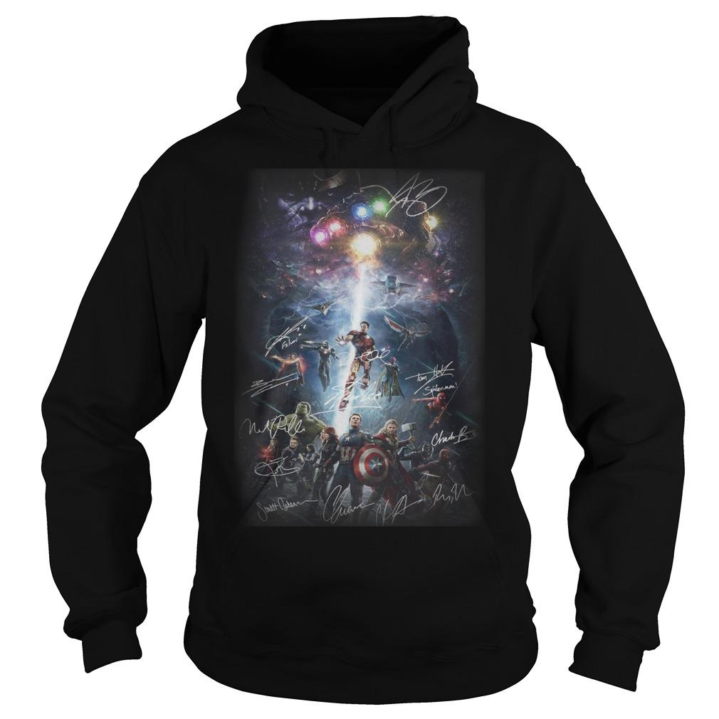 Avengers New Poster Signatures Hoodie