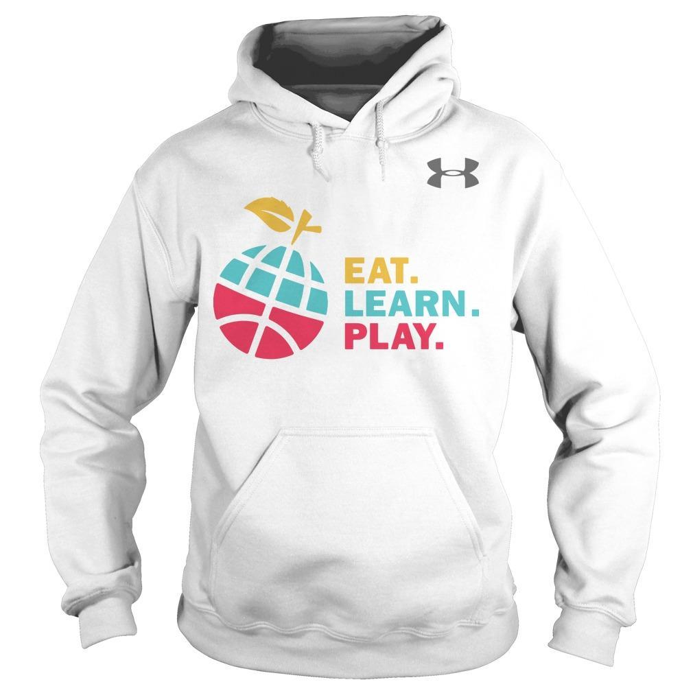 Ayesha Stephen Curry Eat Learn Play Hoodie