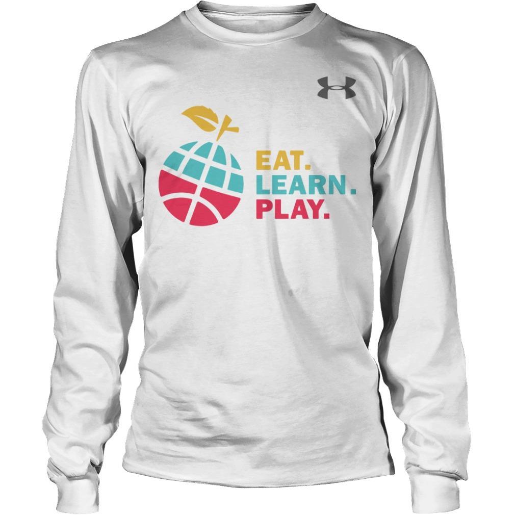 Ayesha Stephen Curry Eat Learn Play Longsleeve