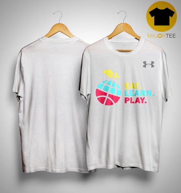 Ayesha Stephen Curry Eat Learn Play Shirt