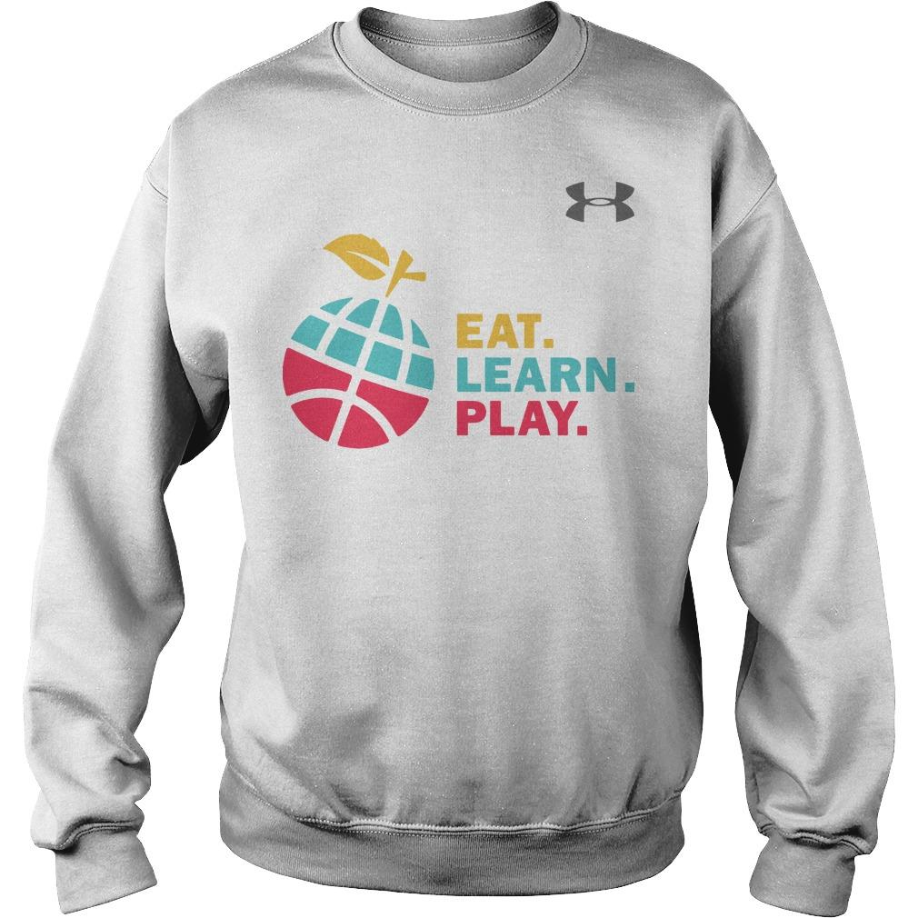 Ayesha Stephen Curry Eat Learn Play Sweater