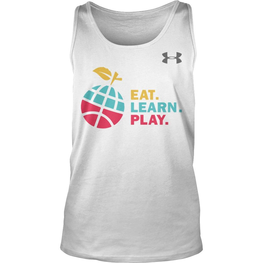 Ayesha Stephen Curry Eat Learn Play Tank Top