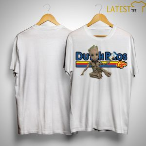 Baby Groot Dutch Bros Coffee Shirtl