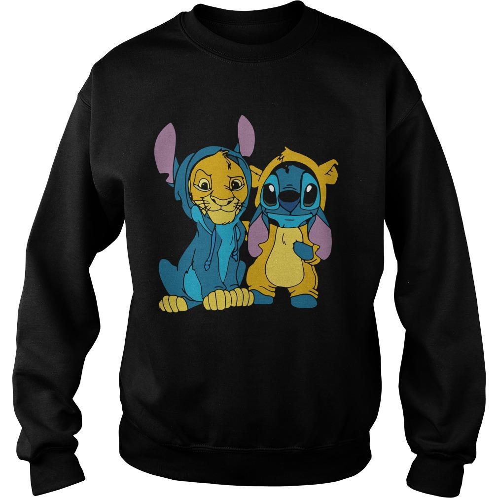 Baby Stitch And Simba Sweater