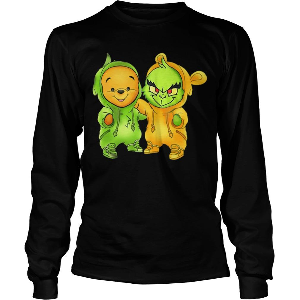 Baby The Grinch And Pooh Longsleeve