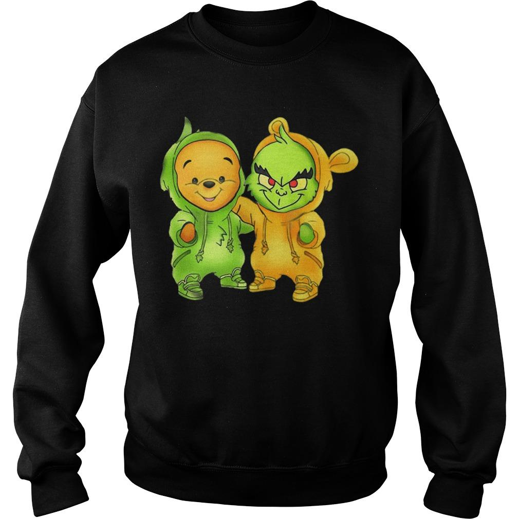 Baby The Grinch And Pooh Sweater
