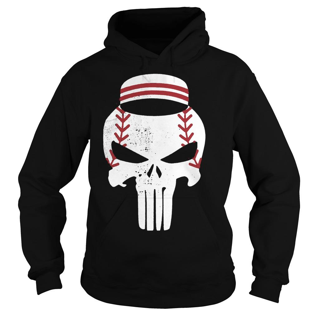 Baseball Punisher Hoodie