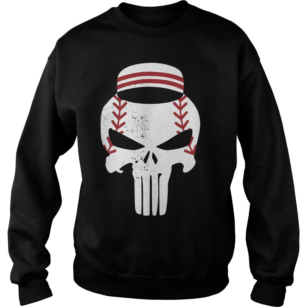 Baseball Punisher Sweater