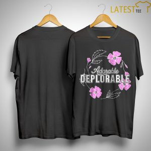 Bill Mitchell Adorable Deplorable Shirt