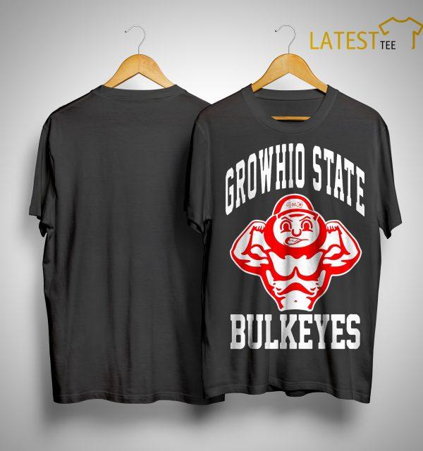 Bradley Robinson Growhio State Bulkeyes Shirt