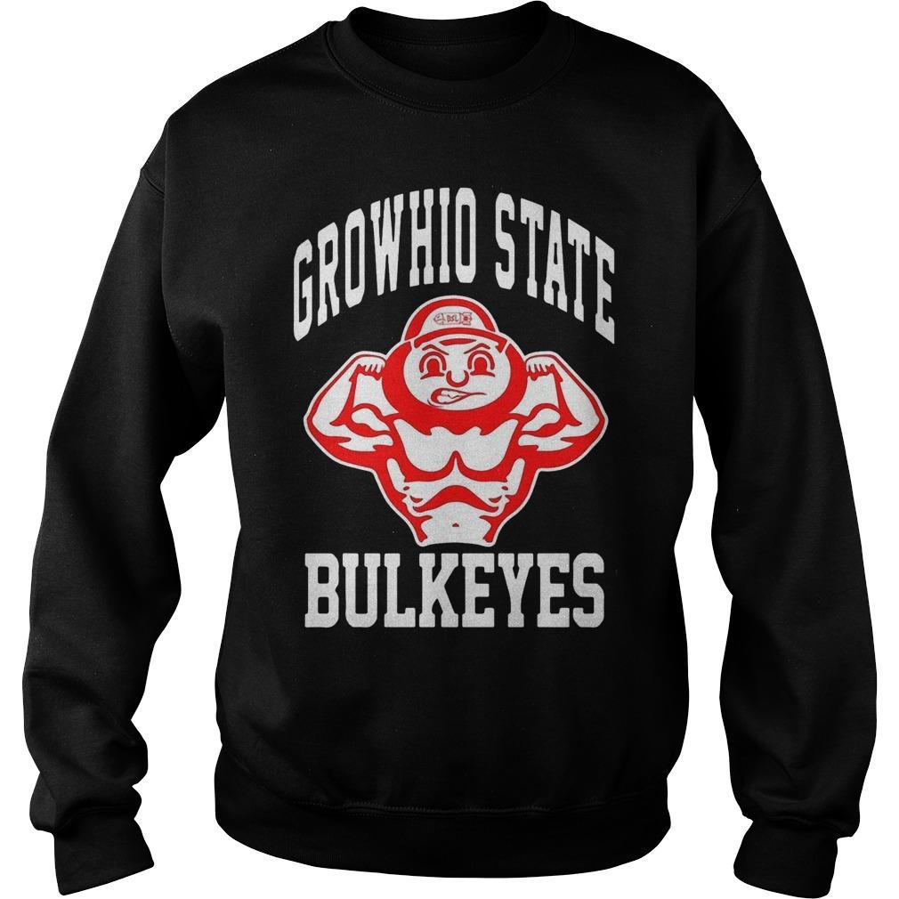 Bradley Robinson Growhio State Bulkeyes Sweater