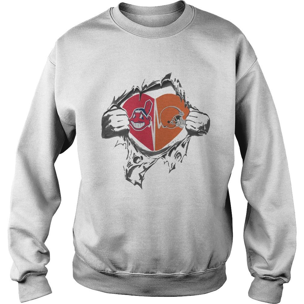 Browns Indians It's In My Heart Sweater