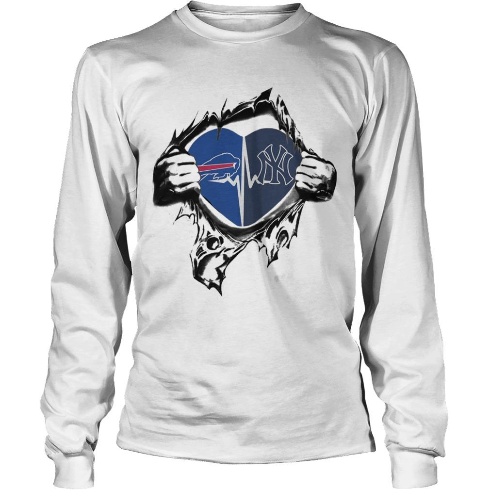 Buffalo Bills New York Yankees It's In My Heart Longsleeve