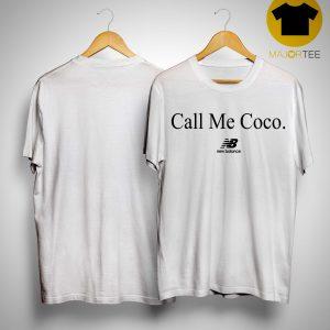 Call Me Coco New Balance Shirt