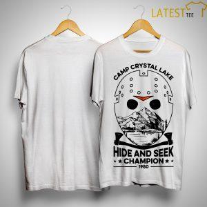 Camp Crystal Lake Hide And Seek Champion 1980 Shirt