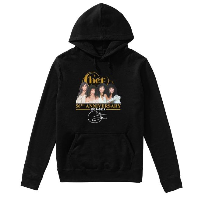 Cher 56th Anniversary 1963 2019 Hoodie