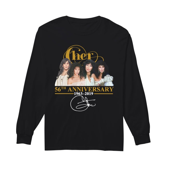 Cher 56th Anniversary 1963 2019 Longsleeve Tee