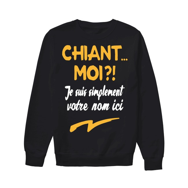 Chiant Moi Je Suis Simplement Dylan Sweater
