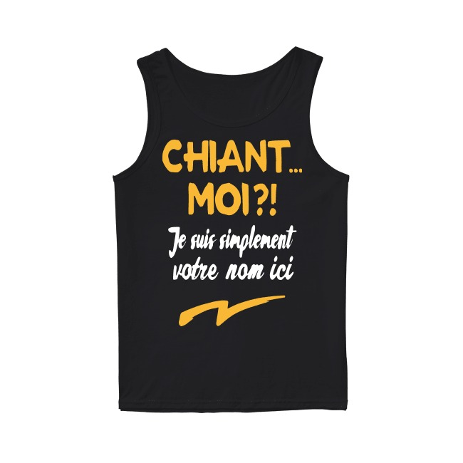 Chiant Moi Je Suis Simplement Dylan Tank Top