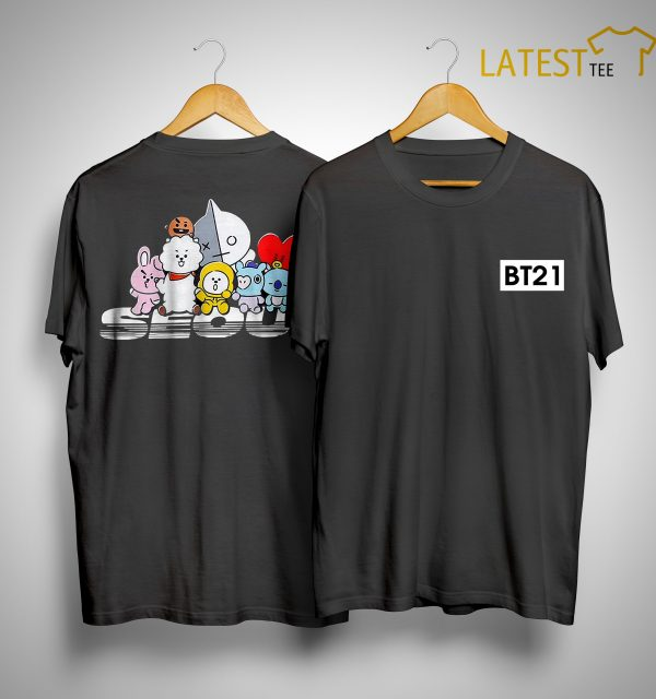 City Collection BT21 Seoul Shirt