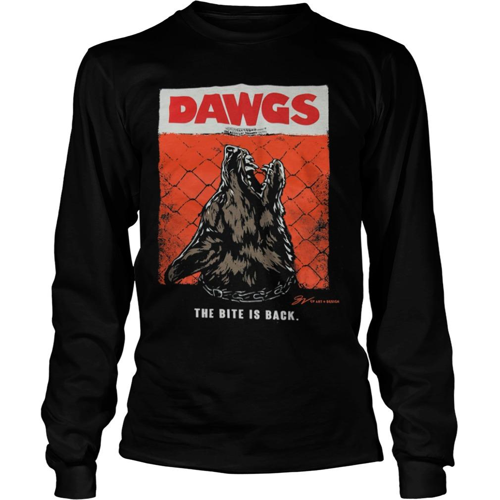Cleveland Dawgs The Bite Is Back Longsleeve