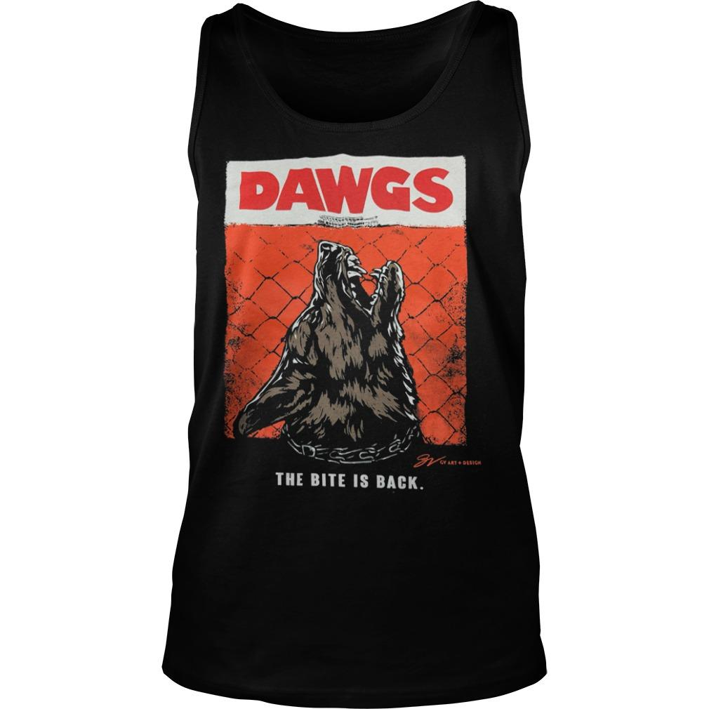 Cleveland Dawgs The Bite Is Back Tank Top