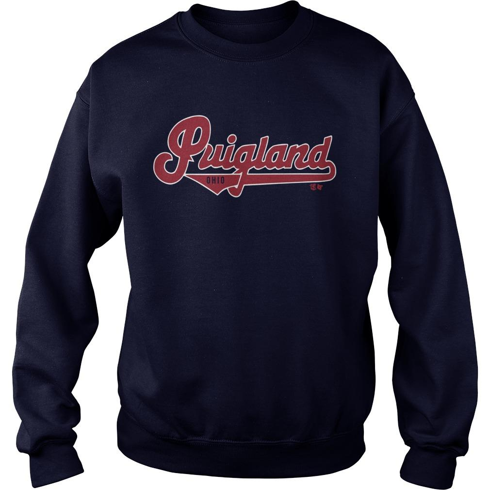 Cleveland Indians Puigland Ohio Sweater