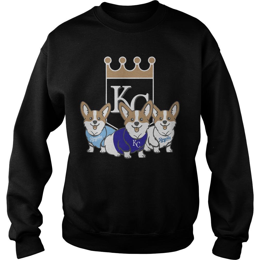 Corgi Kansas City Royals Sweater