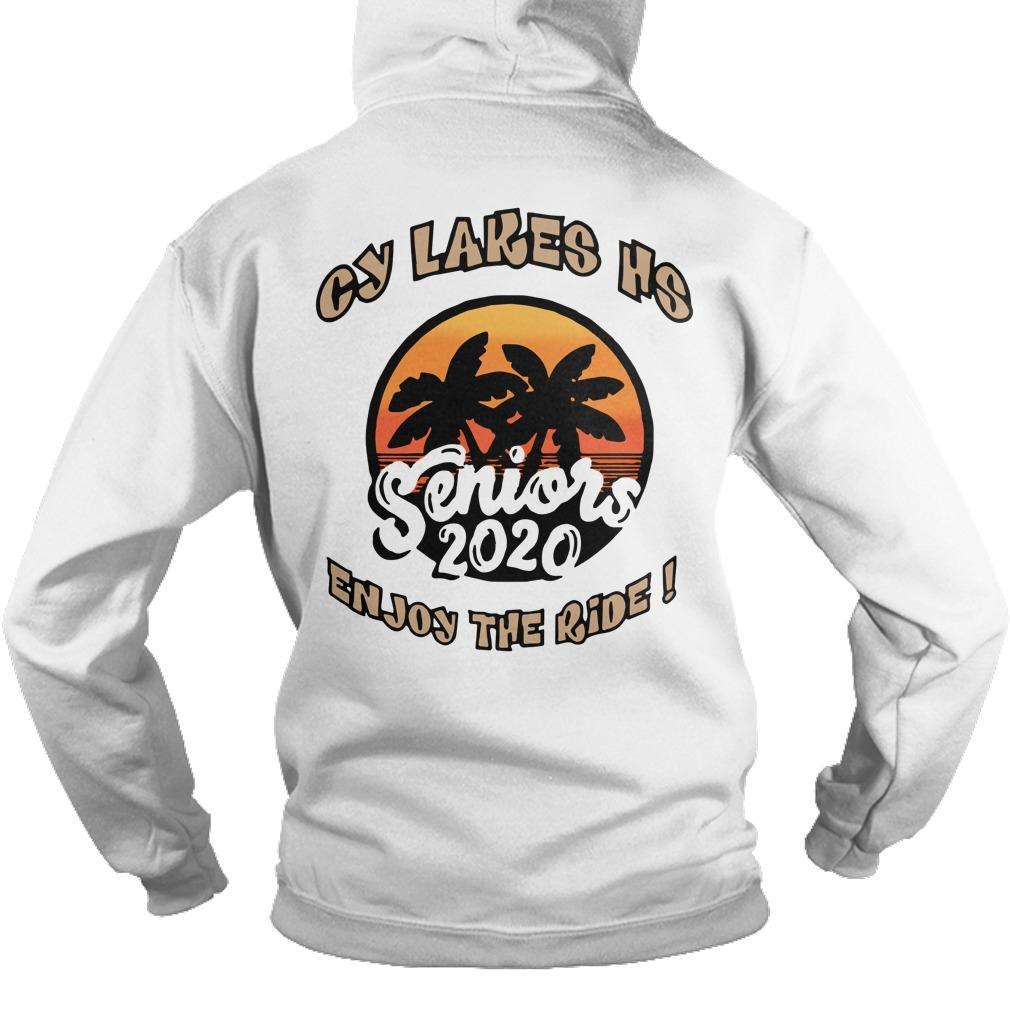 Cy Lakes Hs Enjoy The Ride Seniors 2020 Hoodie