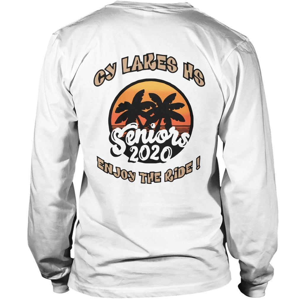 Cy Lakes Hs Enjoy The Ride Seniors 2020 Longsleeve