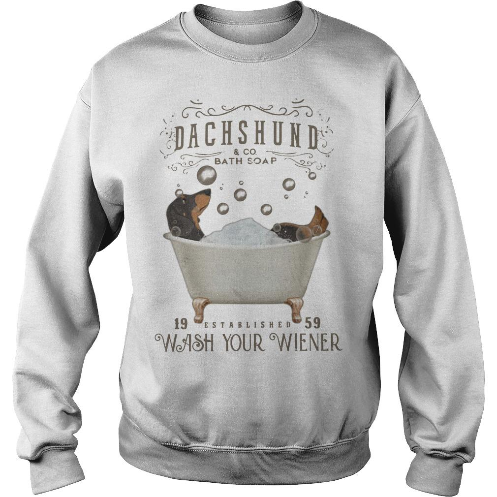 Dachshund And Co Bath Soap Wash Your Wiener Sweater