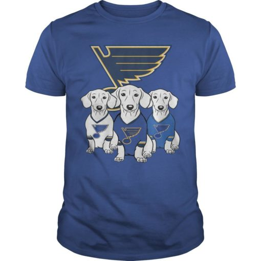 Dachshund St Louis Blues