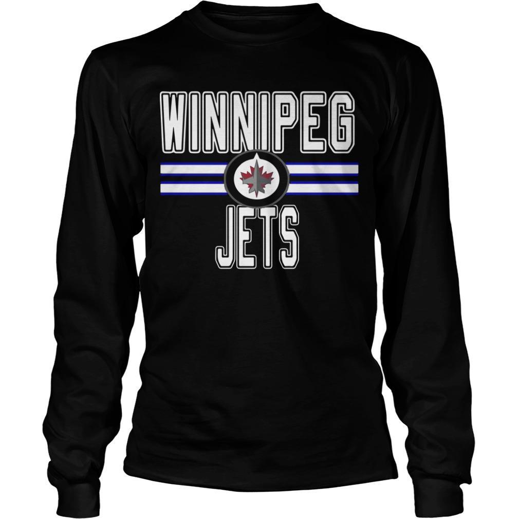 Daniel Carlson 38 Winnipeg Jets Longsleeve