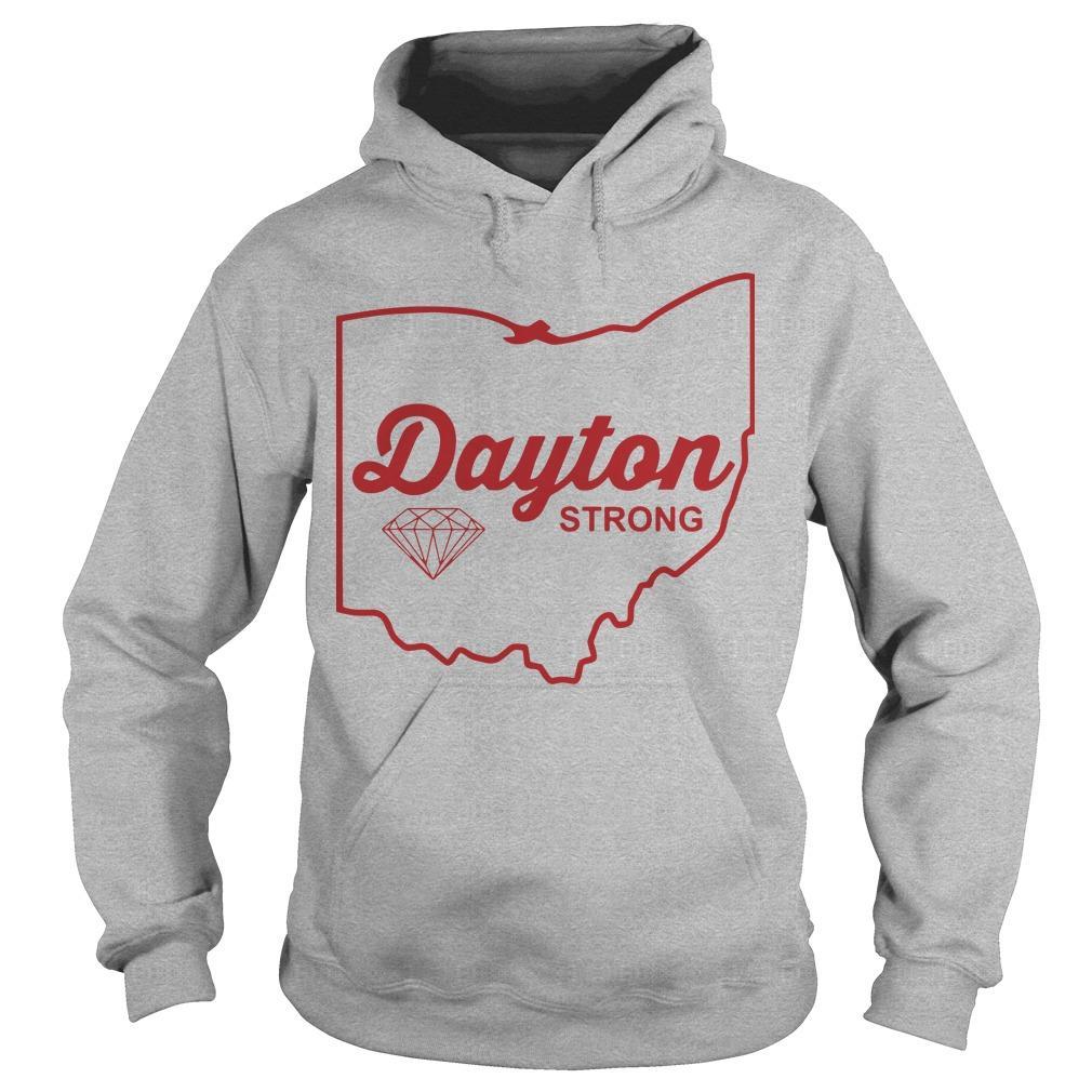 Dayton Strong T Tornado Relief Hoodie