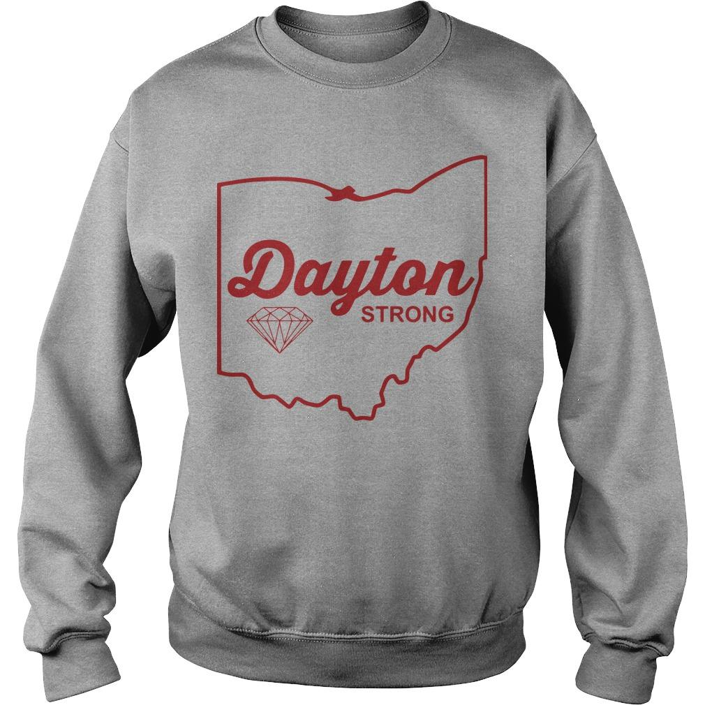 Dayton Strong T Tornado Relief Sweater