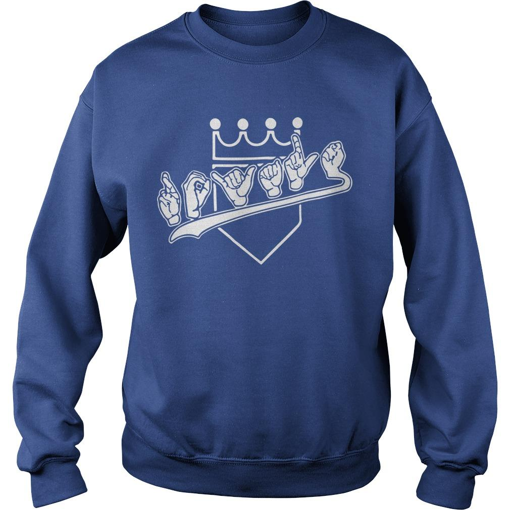 Donna Pitman KMBC Royals Sweater