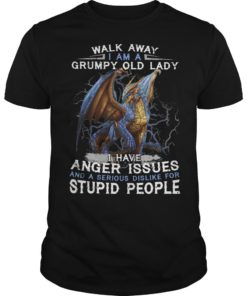 Dragon Walk Away I Am A Grumpy Old Lady I Have Anger Issues Stupid People