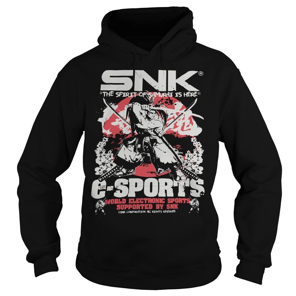 Evo 2019 Snk The Spirit Of Samurai Is Here Esports Hoodie