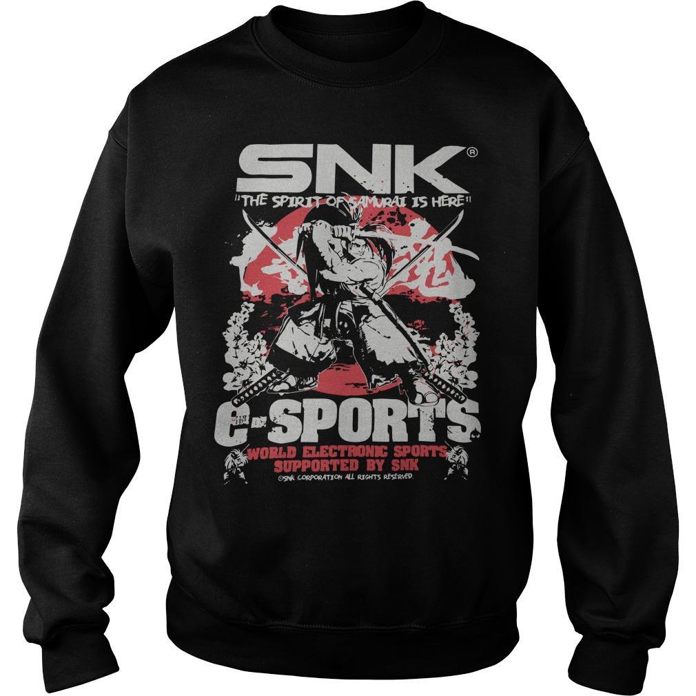Evo 2019 Snk The Spirit Of Samurai Is Here Esports Sweater